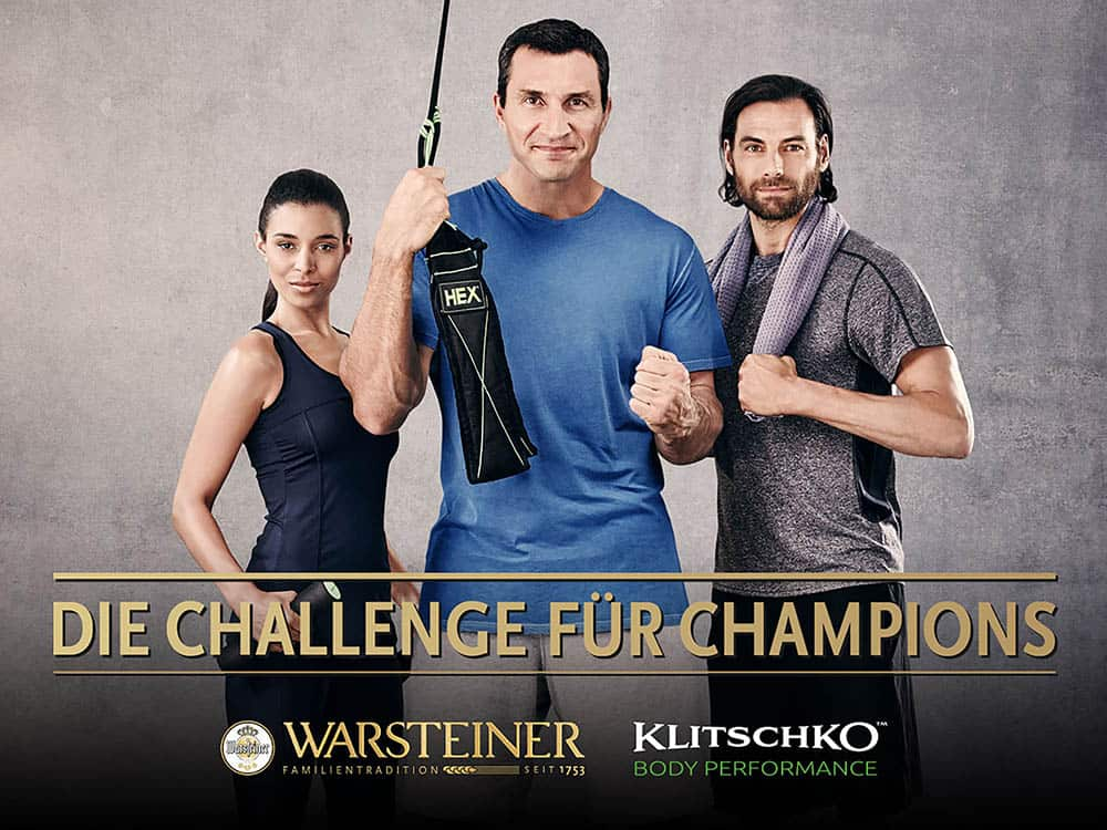 Klitschko x Warsteiner